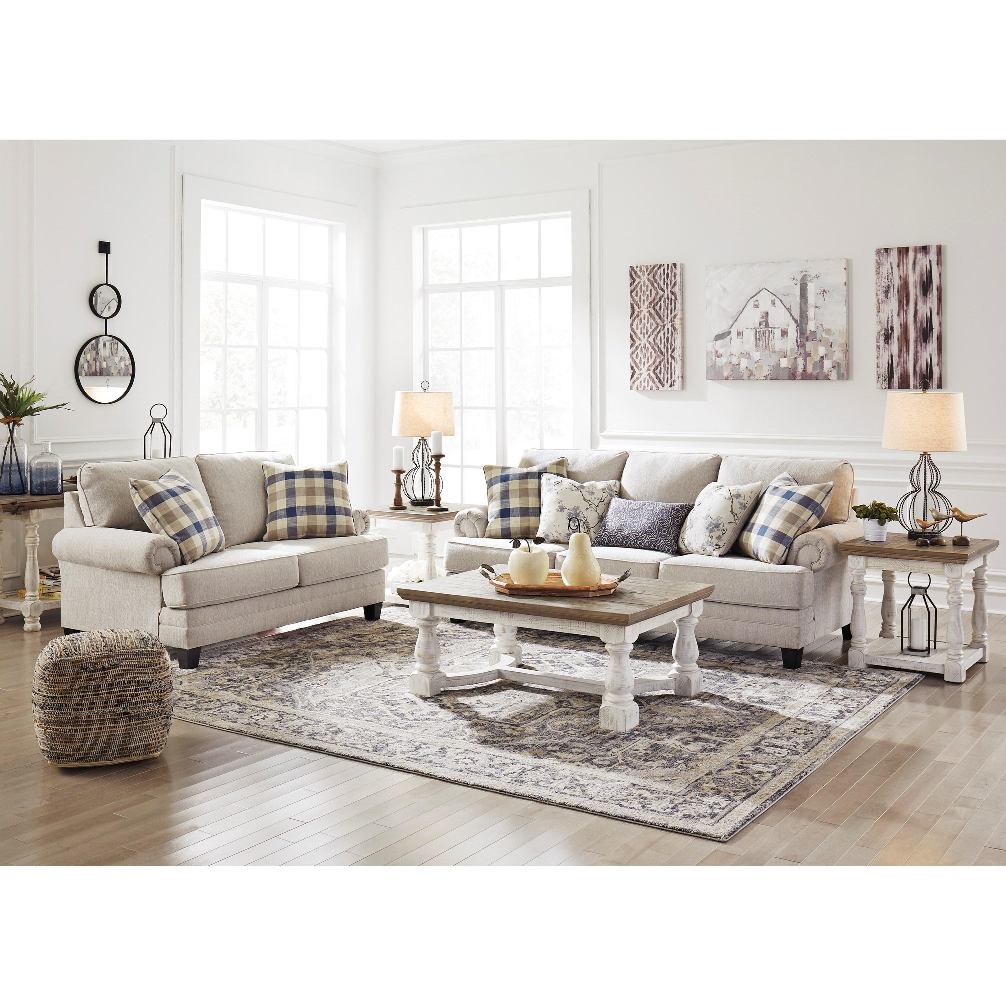 Benchcraft By Ashley Meggett Queen Sofa Sleeper With