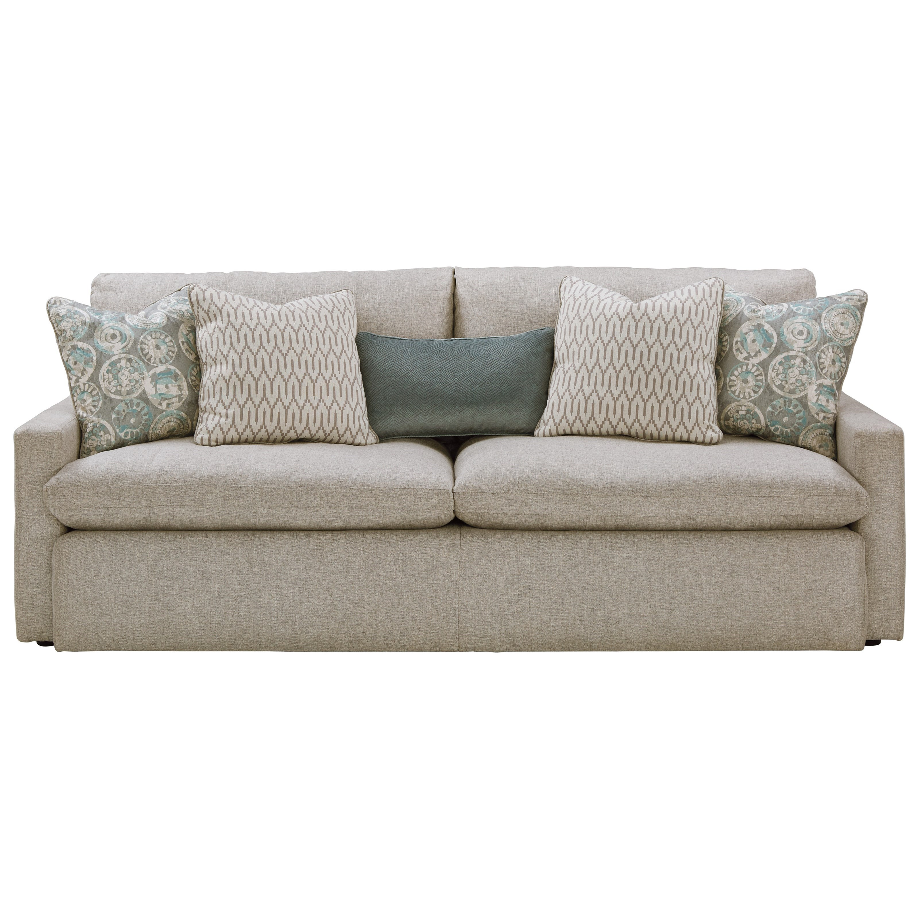 Benchcraft Melilla 2830238 Sofa with Feather Blend Cushions | John V ...