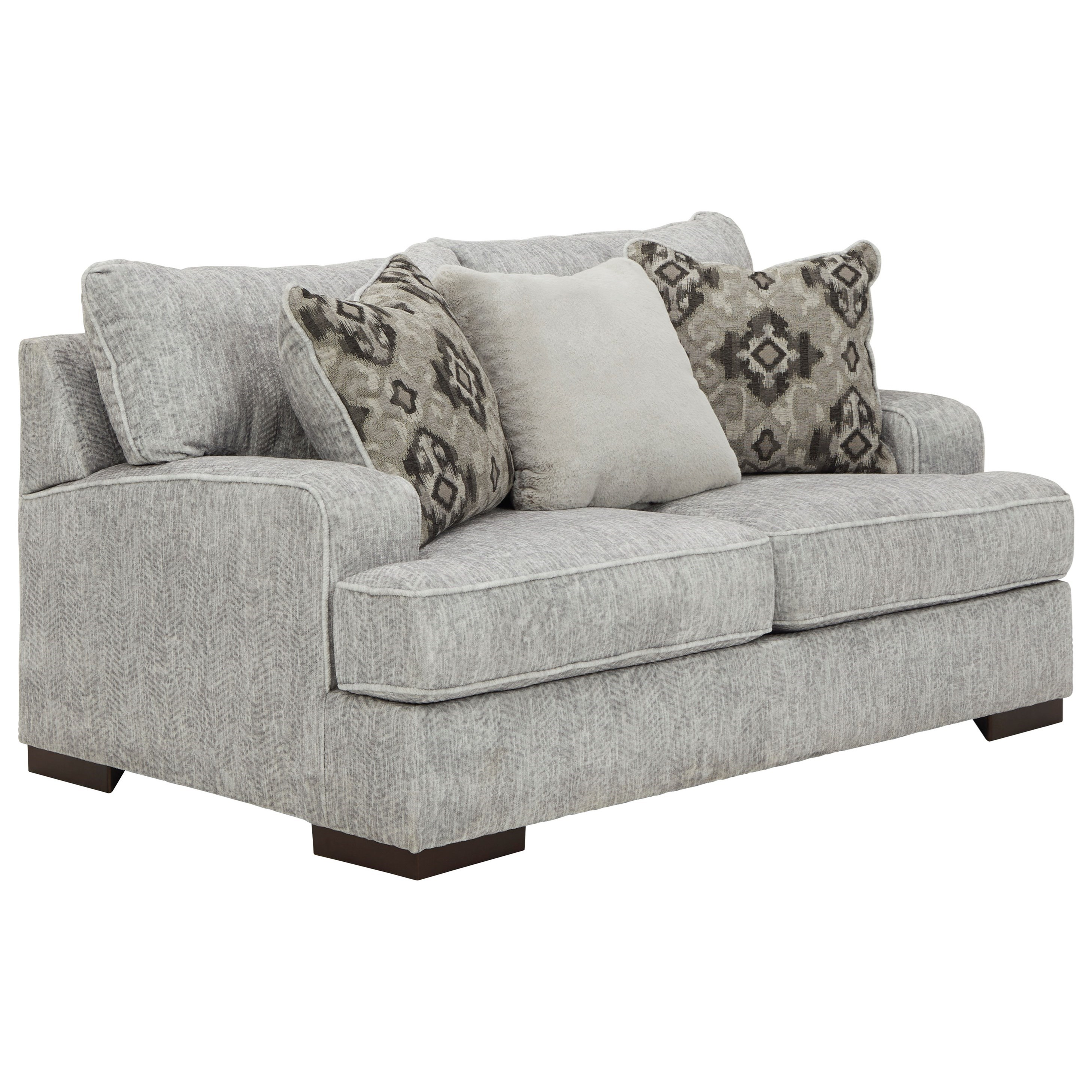 Benchcraft Mercado 8460435 Contemporary Loveseat Gill Brothers Furniture Loveseats
