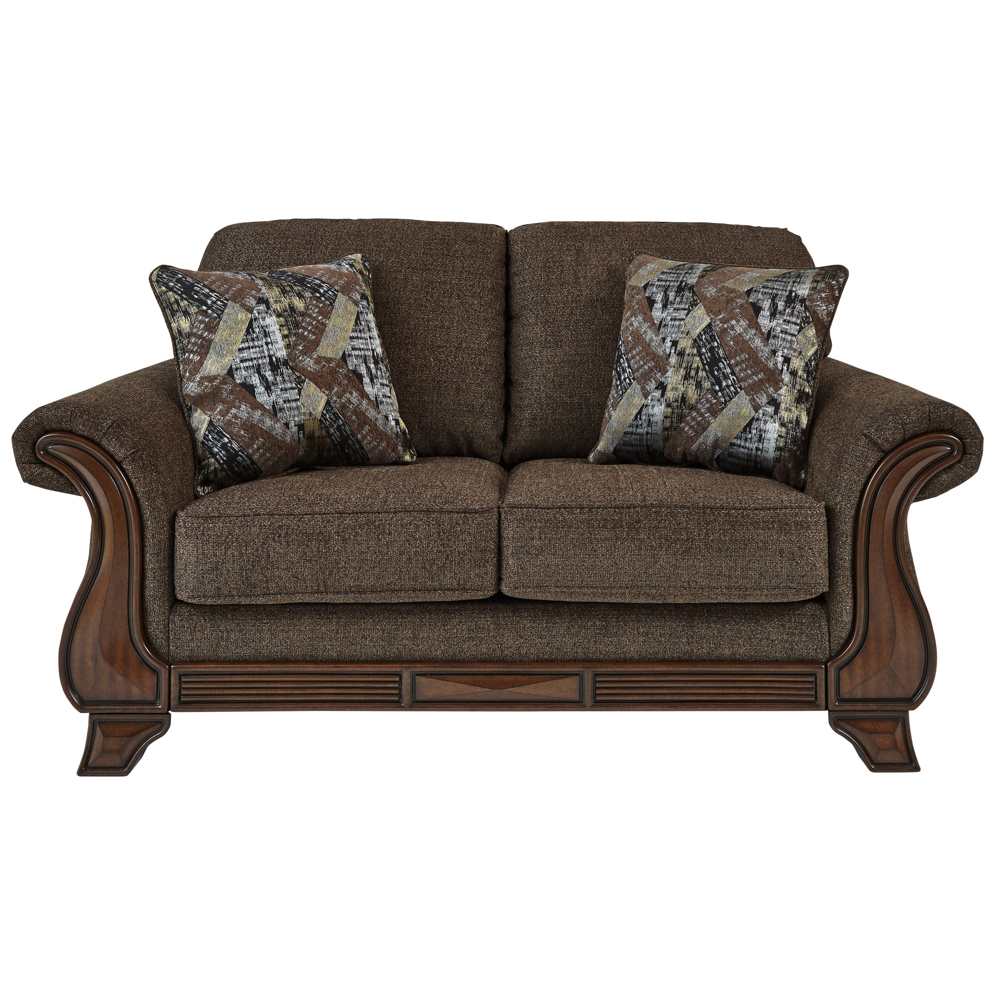 Miltonwood Loveseat by Benchcraft at Beck's Furniture