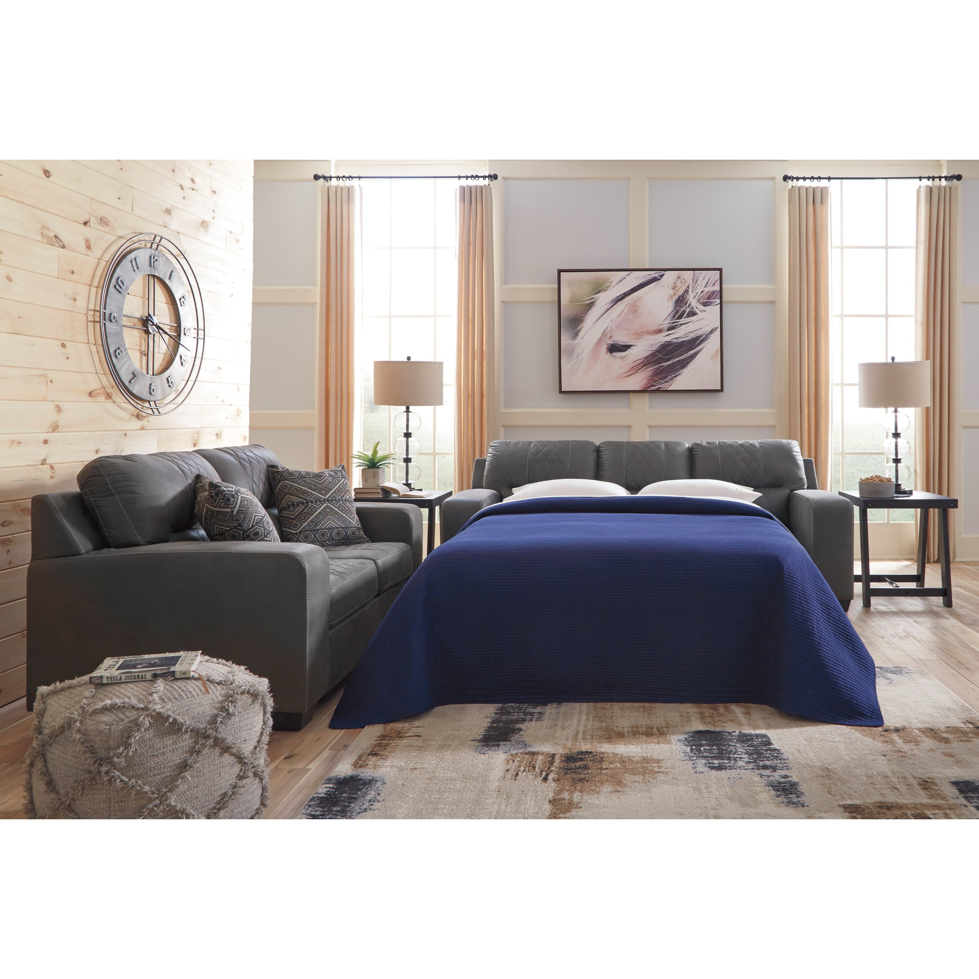 Living Room Furniture Nj: Benchcraft Narzole Living Room Group