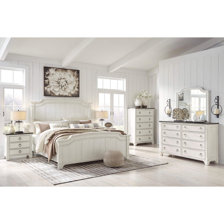 Ashley Furniture Benchcraft Nashbryn B763 K Bedroom Group King Bedroom Group Del Sol Furniture Bedroom Groups