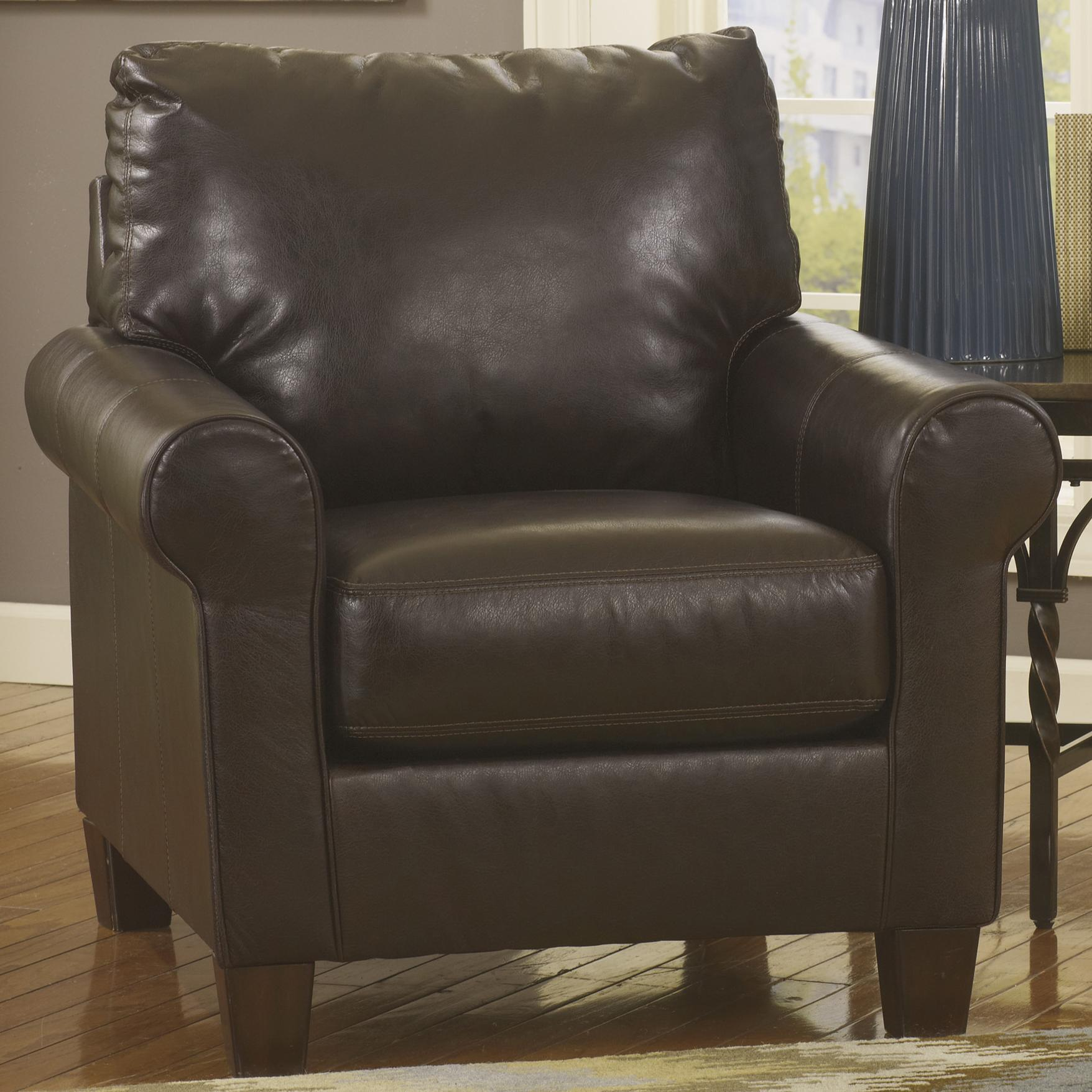Benchcraft Nastas DuraBlend - Bark Chair - Item Number: 2330020