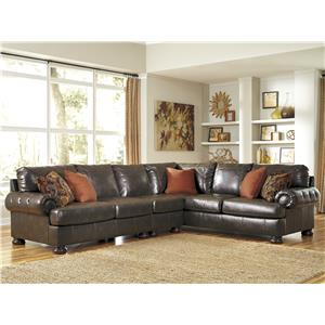 Ashley Nesbit DuraBlend® 3-Piece Sectional