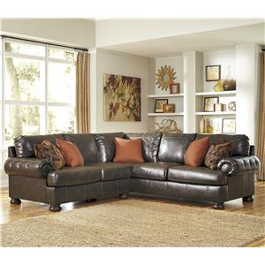 Ashley Nesbit DuraBlend® 2-Piece Sectional