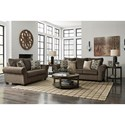 Benchcraft Nesso Stationary Living Room Group - Item Number: 49102 Living Room Group 1