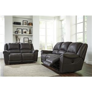 Benchcraft Jackson Reclining Living Room Group