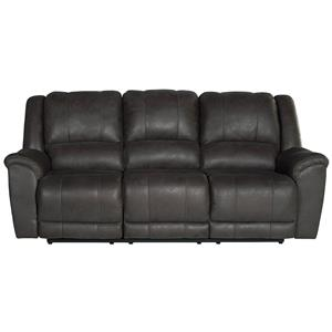 Benchcraft Jackson Grey Reclining Sofa