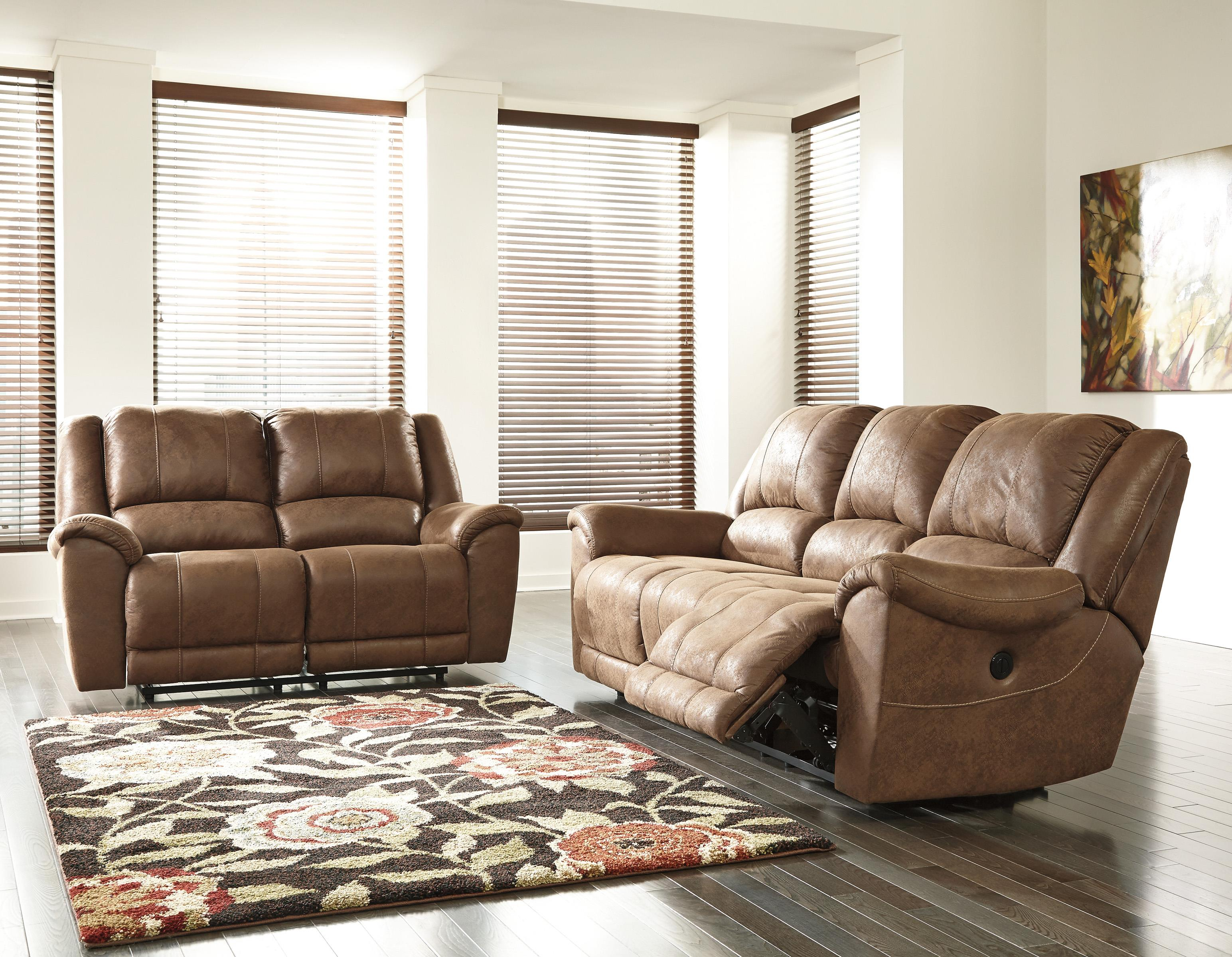 Benchcraft Niarobi Reclining Living Room Group - Item Number: 40601 Living Room Group 1