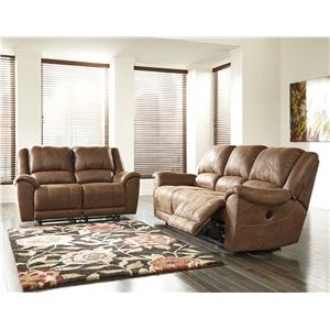 Ashley Niarobi Reclining Living Room Group