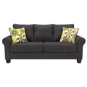 Benchcraft Nolana - Charcoal Queen Sofa Sleeper