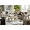 Benchcraft by Ashley Olin Living Room Group - Item Number: 40002 Living Room Group 2