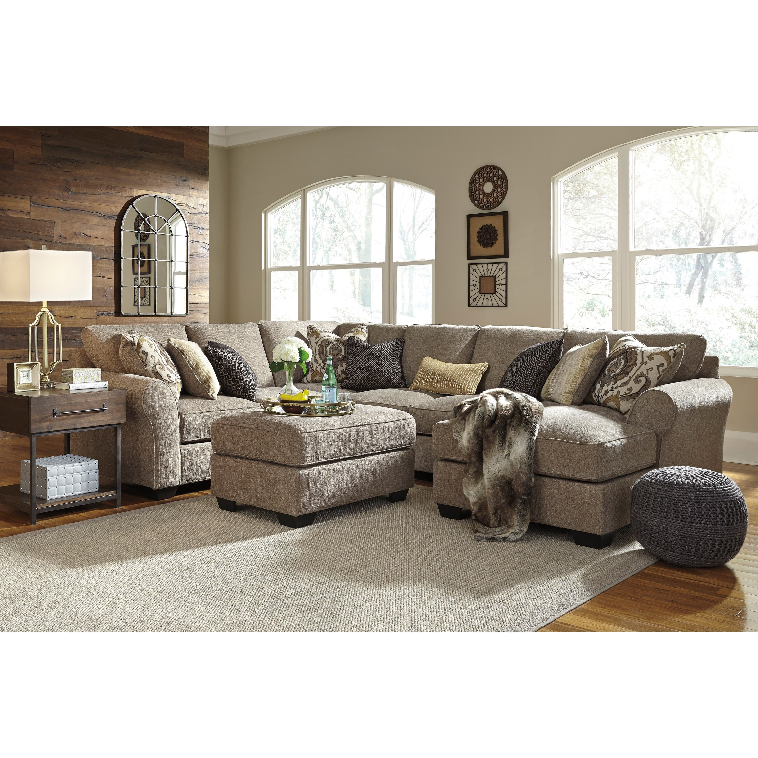 Pantomine 4 piece sectional with right chaise becker for 4 piece sectional with chaise