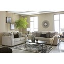 Signature Design By Ashley Parlson Stationary Living Room Group - Item Number: 78902 Living Room Group 2