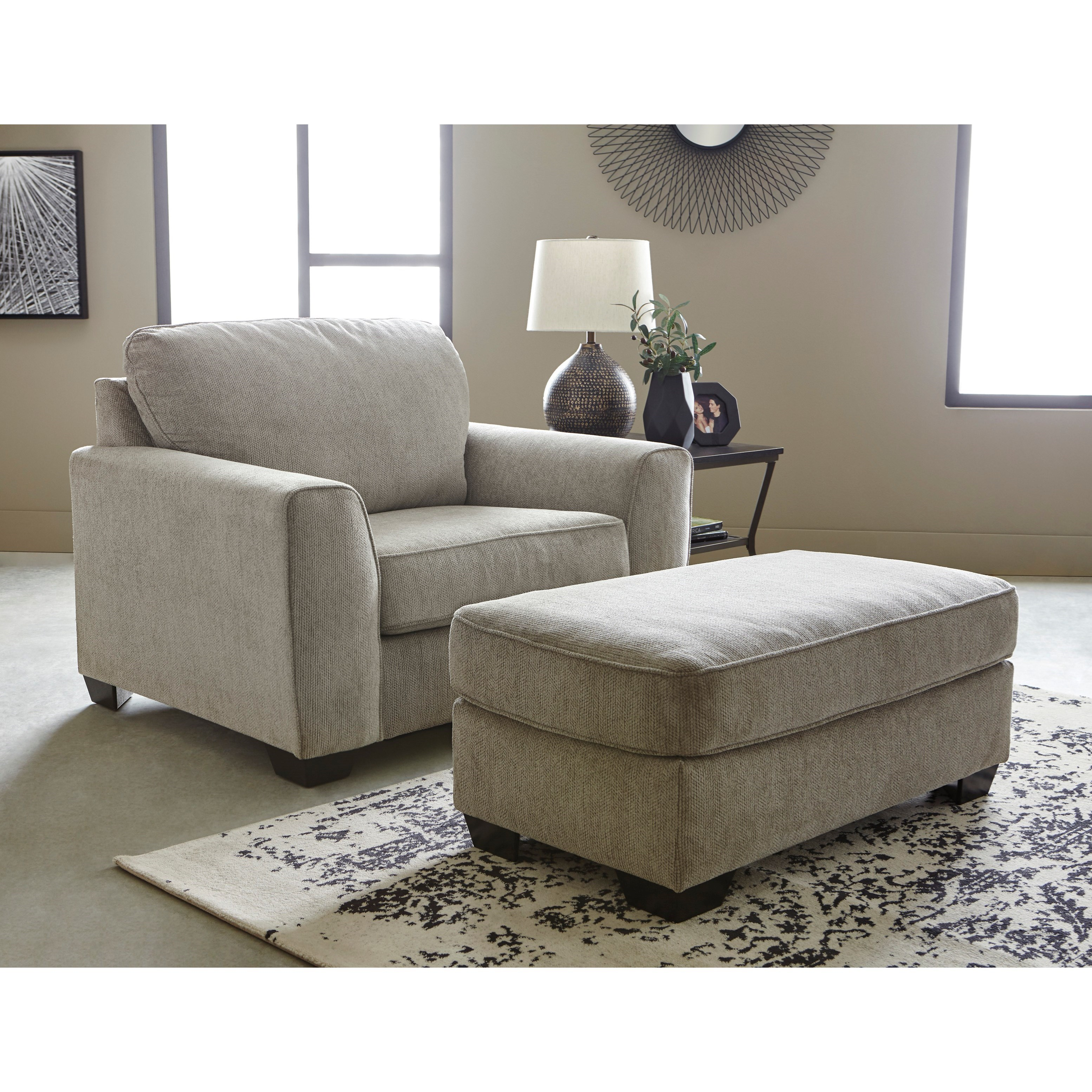 Ashley Furniture Goldsboro Nc: Benchcraft Parlston 7890223 Contemporary Chair And A Half