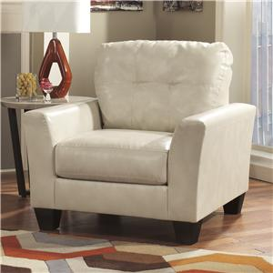 Ashley Paulie DuraBlend® - Taupe Chair