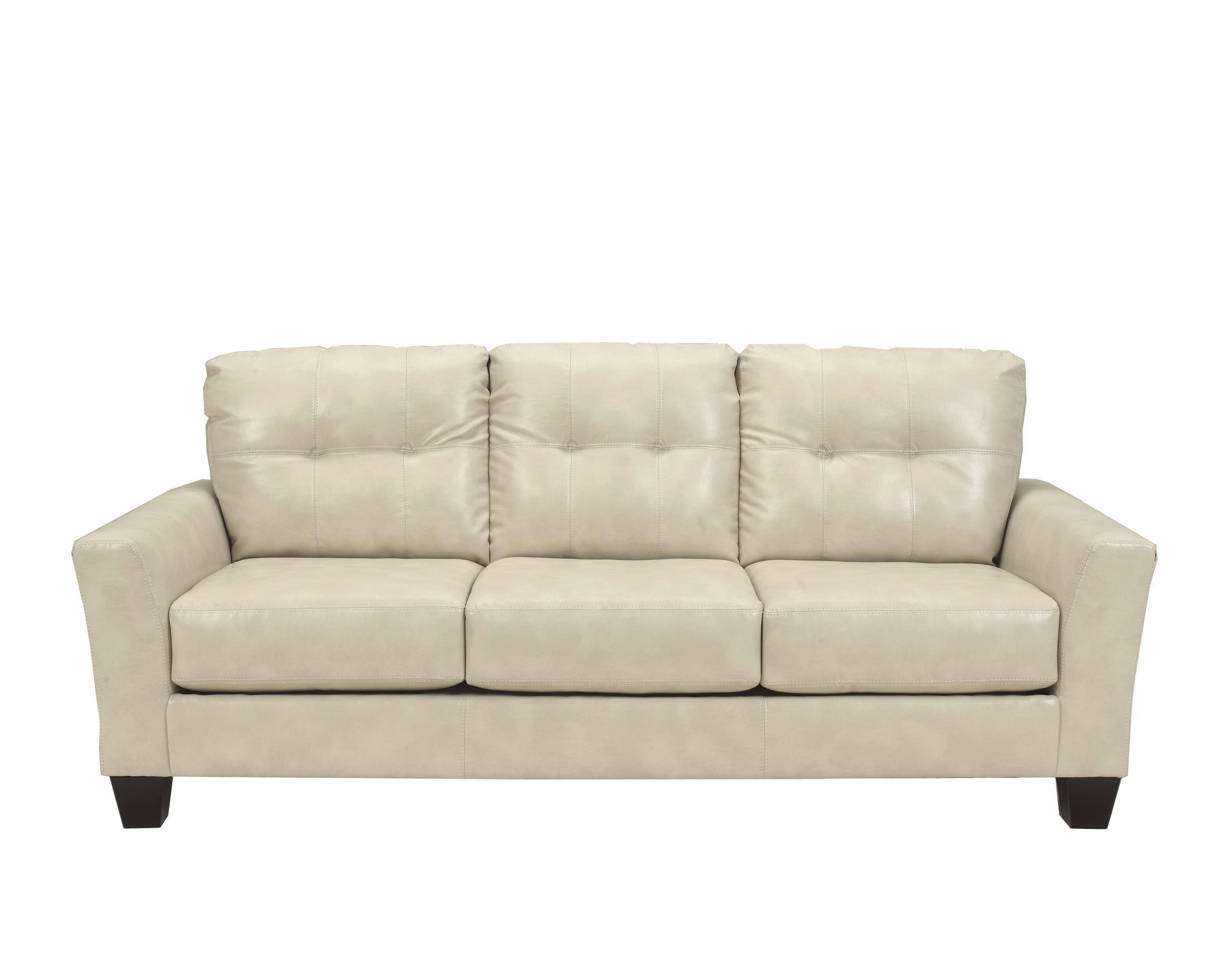 Benchcraft Paulie DuraBlend® - Taupe Sofa - Item Number: 2700038