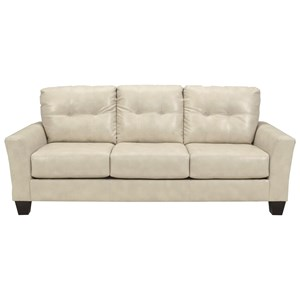 Ashley Paulie DuraBlend® - Taupe Sofa