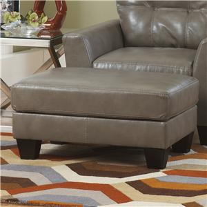 Ashley Paulie DuraBlend® - Quarry Ottoman