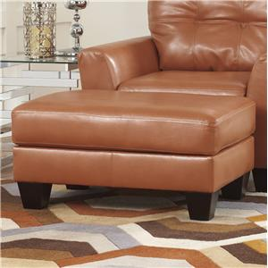 Ashley Paulie DuraBlend® - Orange Ottoman