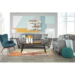 Benchcraft Pelsor Stationary Living Room Group