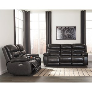 Benchcraft Pillement Reclining Living Room Group