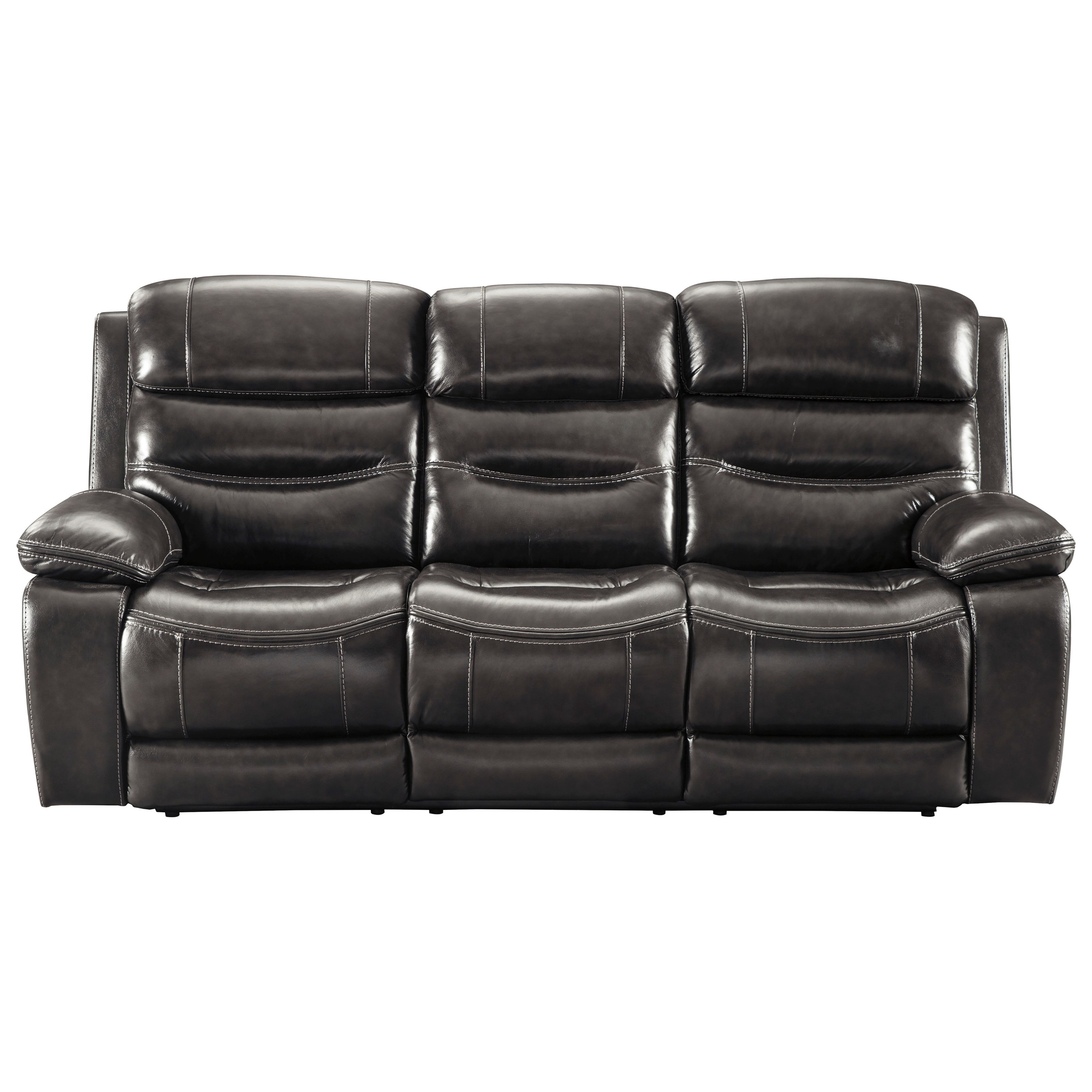 Beau Benchcraft By Ashley Pillement Power Reclining Sofa W/ Adjustable Headrests    Item Number: 7700415