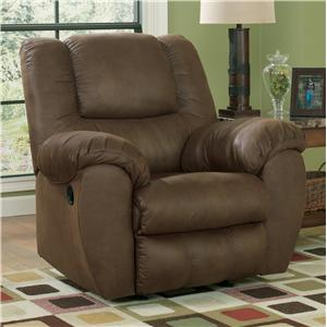 Ashley Quarterback - Canyon Rocker Recliner