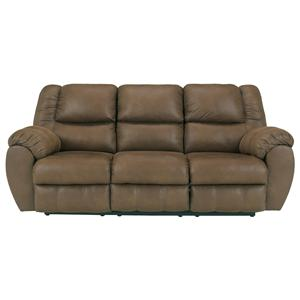 Benchcraft Quarterback - Canyon Reclining Sofa