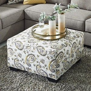 Benchcraft Renchen Oversized Accent Ottoman