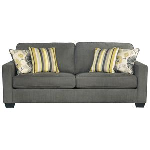 Benchcraft Safia - Slate Queen Sofa Sleeper