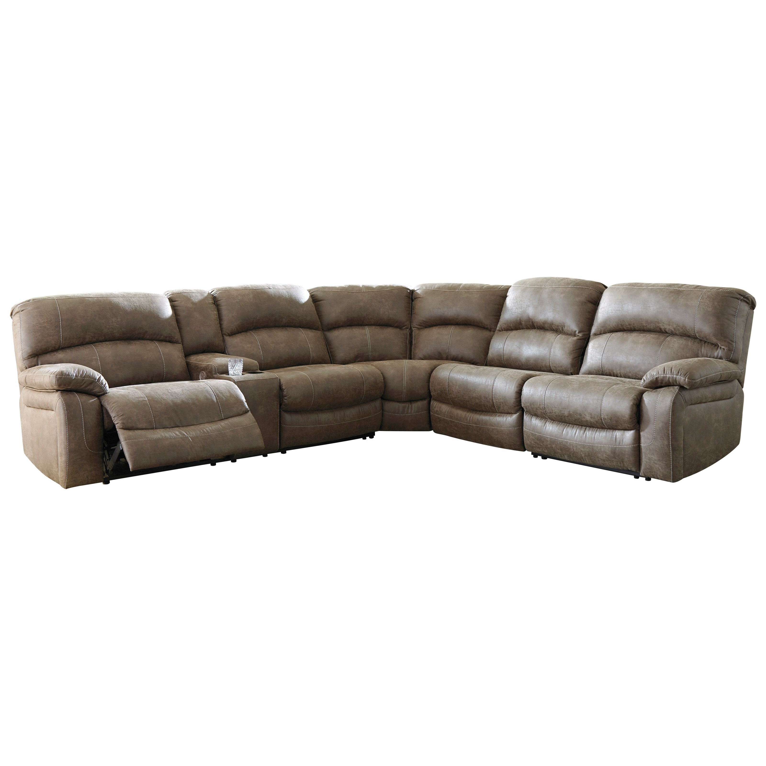 4-Piece Power Reclining Sectional