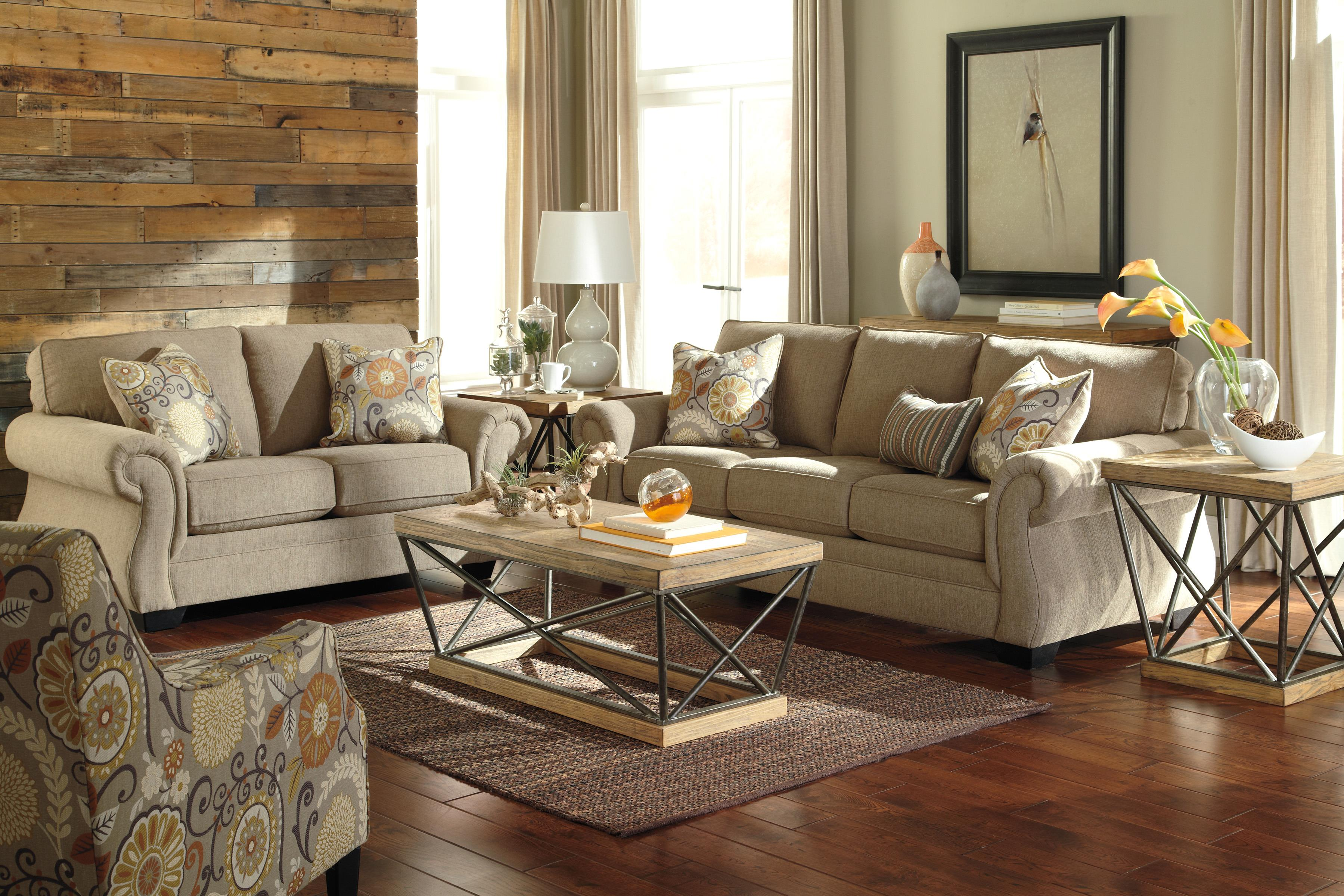 Benchcraft Tailya Stationary Living Room Group - Item Number: 47700 Living Room Group 2