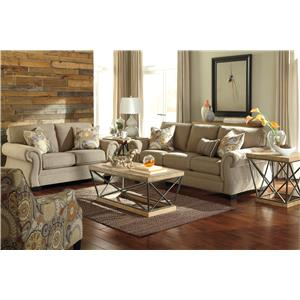 Benchcraft Tailya Stationary Living Room Group