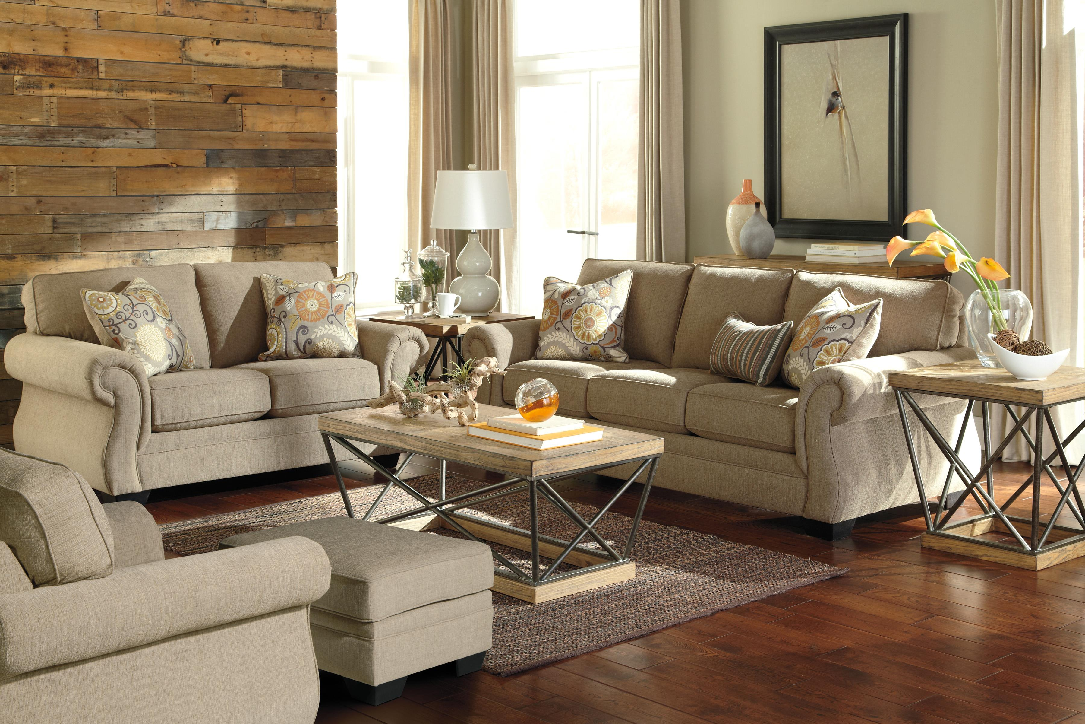 Benchcraft Tailya Stationary Living Room Group - Item Number: 47700 Living Room Group 3