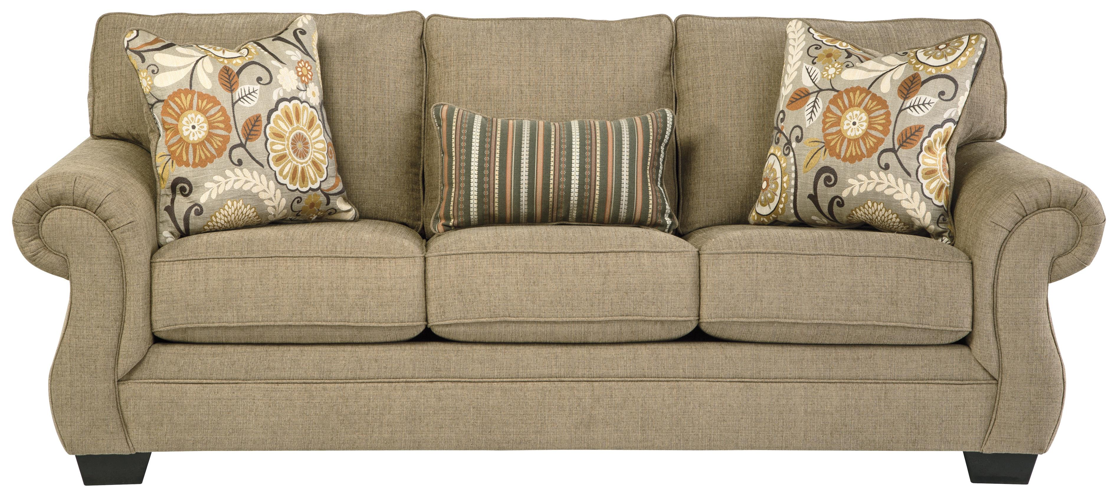 Benchcraft Tailya Transitional Sofa With Coil Seating Michael 39 S Furniture Warehouse Sofas