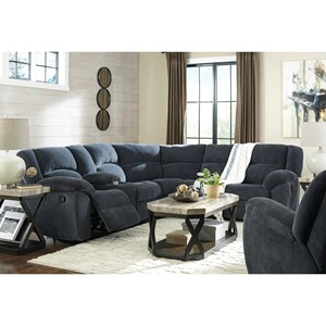 Benchcraft Timpson Reclining Living Room Group