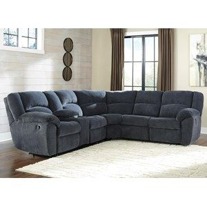 Benchcraft Timpson Reclining Sectional