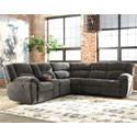 Benchcraft Timpson Reclining Sectional - Item Number: 6190105+49