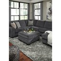 Benchcraft Tracling Contemporary Square Oversized Accent Ottoman