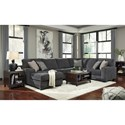 Benchcraft Tracling Contemporary Sectional with Left Chaise