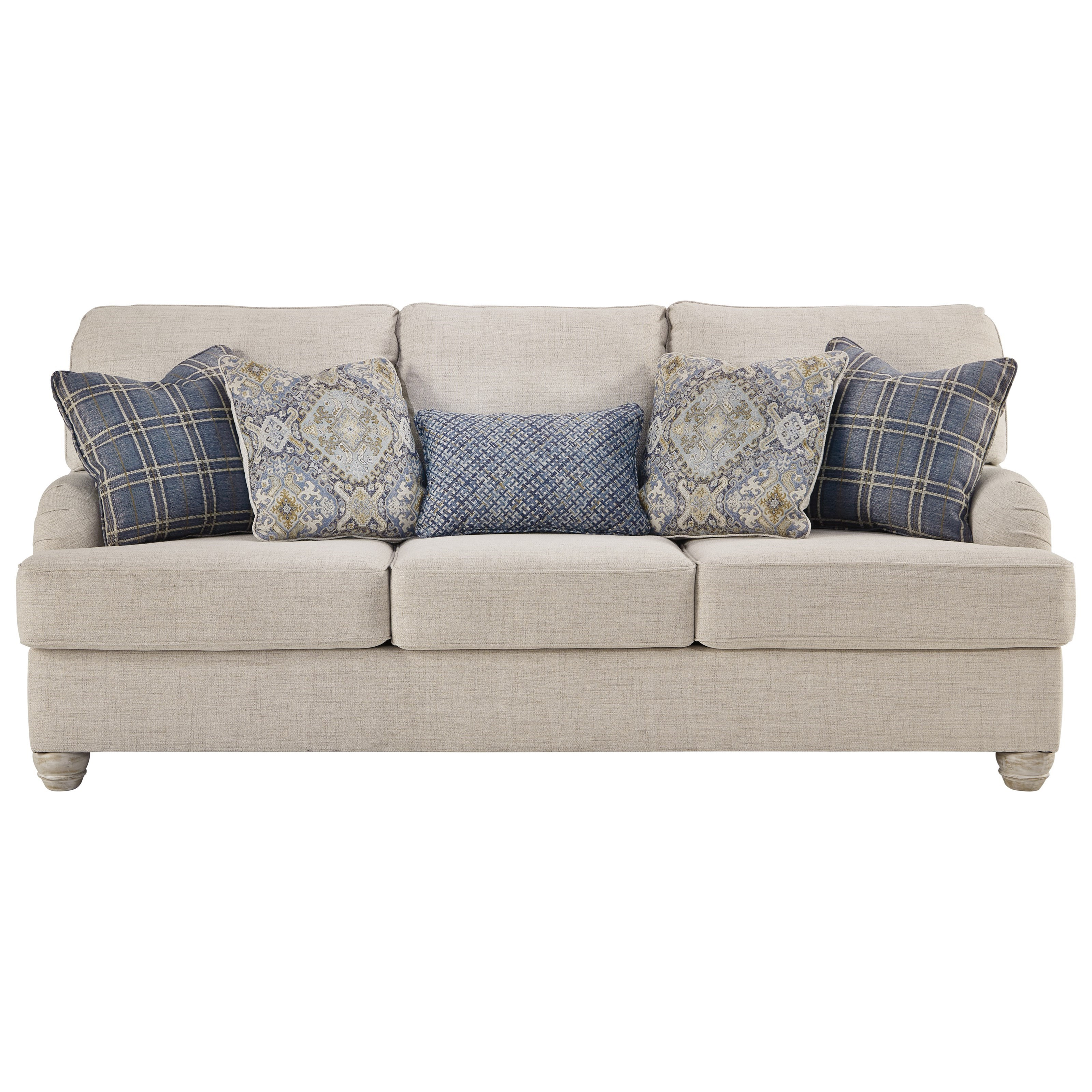 Benchcraft Traemore Queen Sofa Sleeper With English Arms