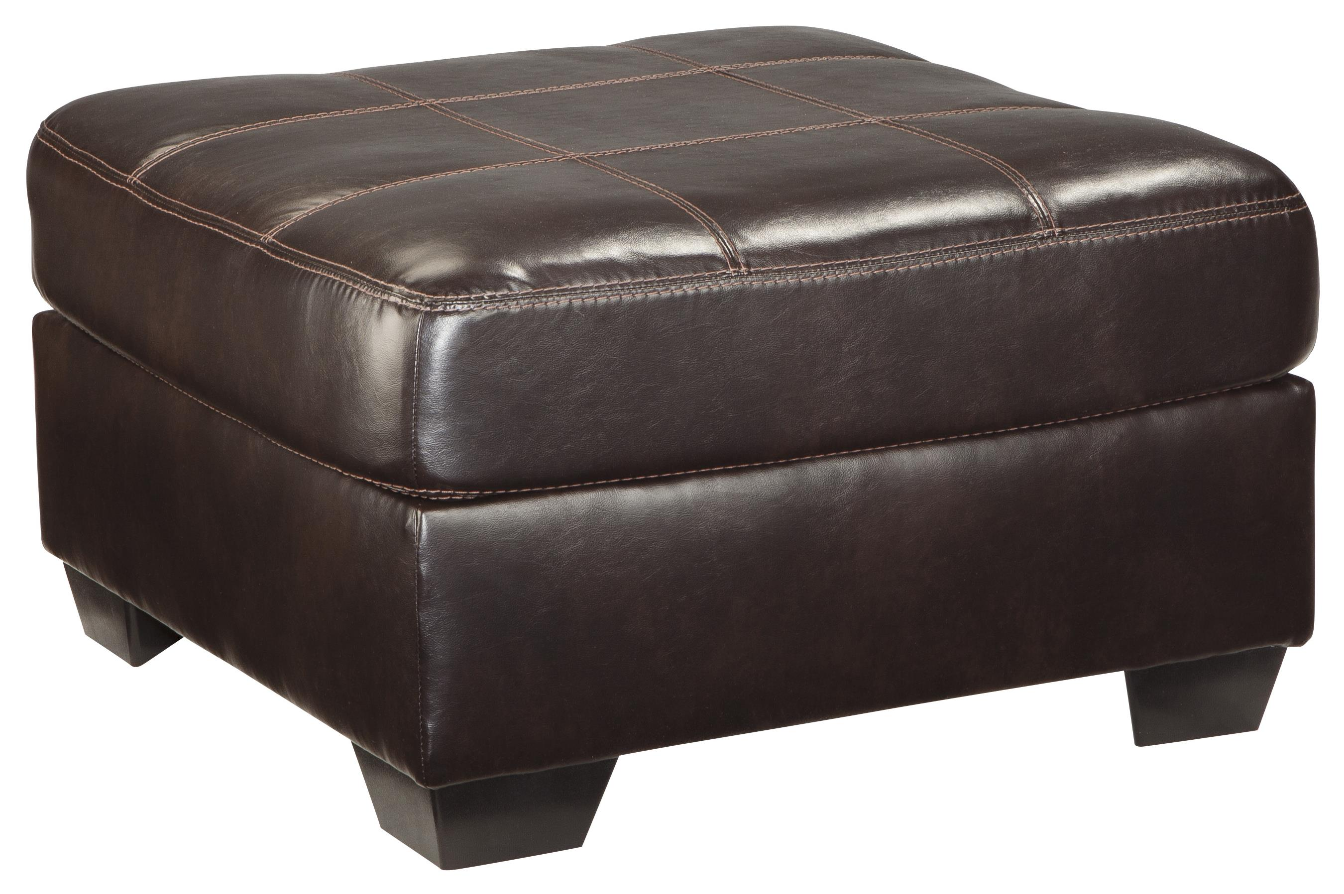 Benchcraft Vanleer Oversized Accent Ottoman - Item Number: 1590008