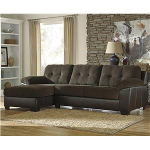 Benchcraft Vanleer 2-Piece Sectional with Left Chaise