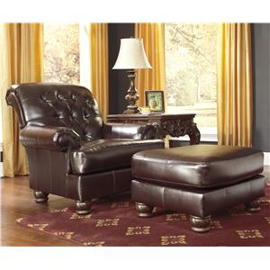 Benchcraft Weslynn Place Accent Chair & Accent Ottoman