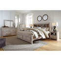 Signature Design By Ashley Willabry King Bedroom Group - Item Number: B215 K Bedroom Group 6