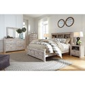 Signature Design By Ashley Willabry Queen Bedroom Group - Item Number: B215 Q Bedroom Group 6