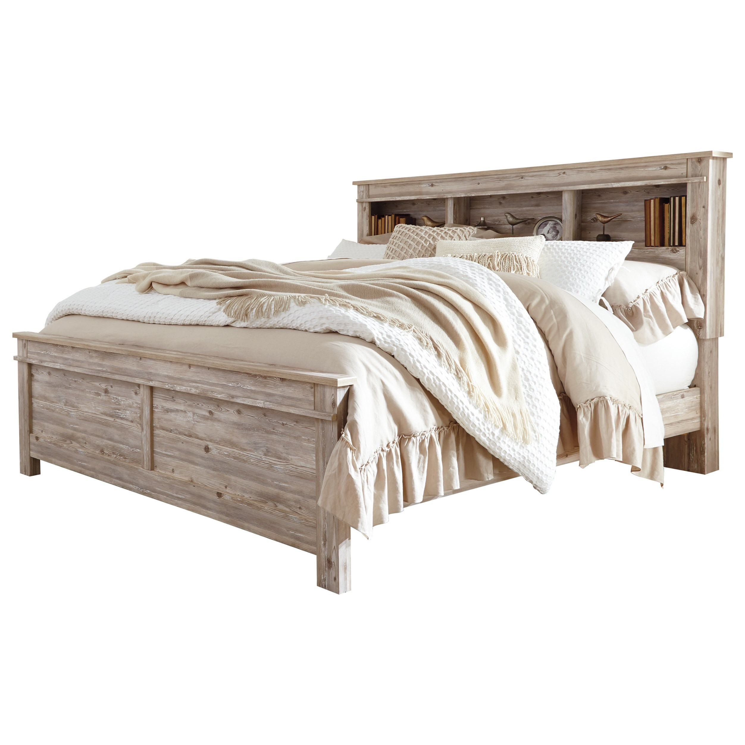 California King Bookcase Bed