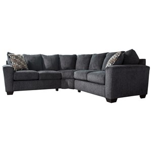 Benchcraft Wixon 2-Piece Corner Sectional