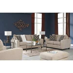 Benchcraft Wixon Stationary Living Room Group